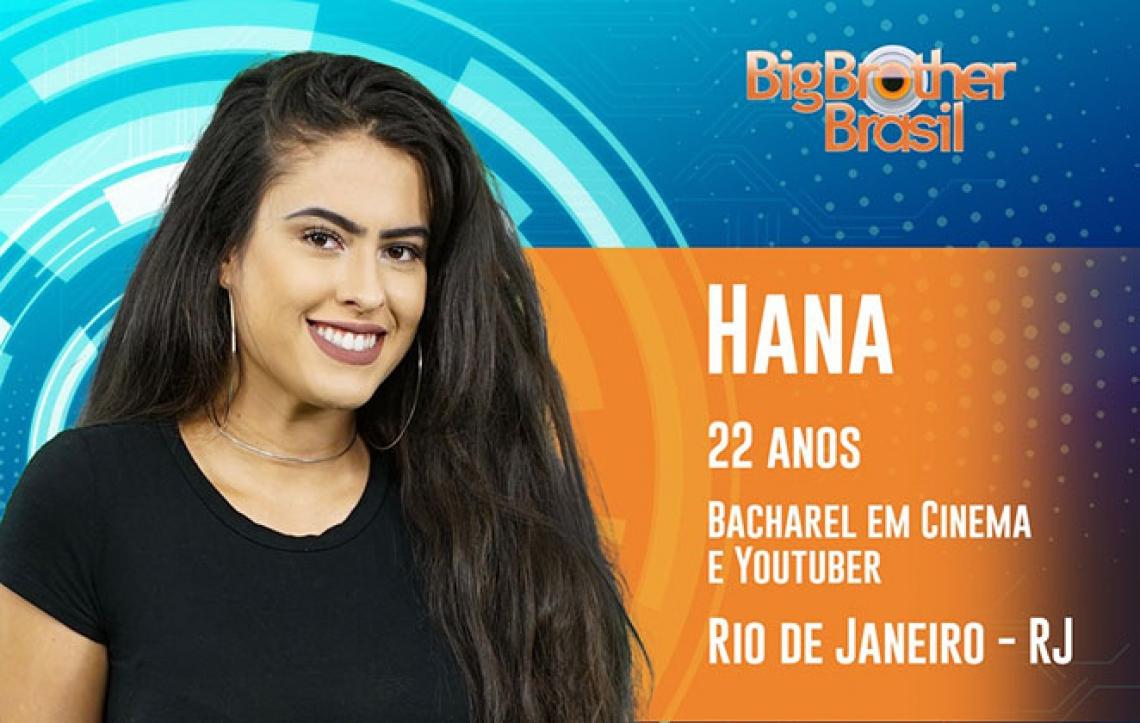 Hana foi eliminada com 47,98% dos votos (FOTO: Reprodução)