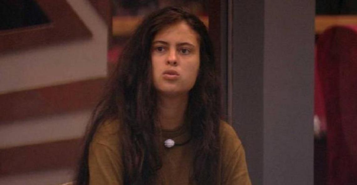 Hana revelou que o assunto precisa ser tratado com seriedade, após comentários feitos por Maycon (Foto: Reprodução/TV Globo)