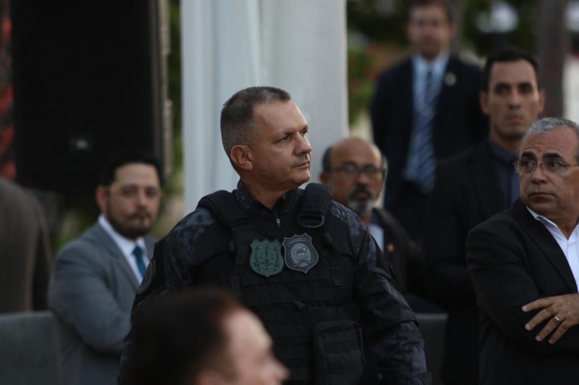 Secretário da Administração Penitenciária (SAP), Luís Mauro Albuquerque (Foto: Mateus Dantas/O POVO)