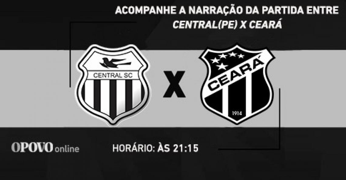 Partida entre Ceará e Central-PE tem transmissão ao vivo da Rádio O POVO CBN.