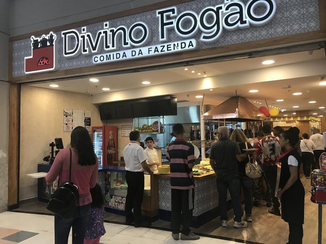 A sétima unidade do Divino Fogão será inaugurada no Sobral Shopping, no próximo dia 19 de fevereiro. (Foto: Divino Fogão/Divulgação)