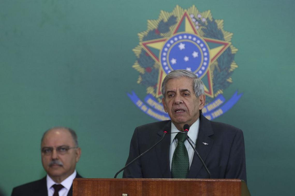 O ministro da Segurança Institucional, general Augusto Heleno (Foto: Antonio Cruz/Agência Brasil)