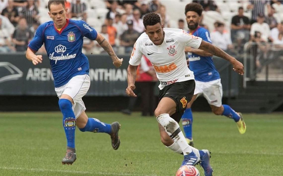 Gustavo, ex-Fortaleza, é uma das atrações do Corinthians para a partida.