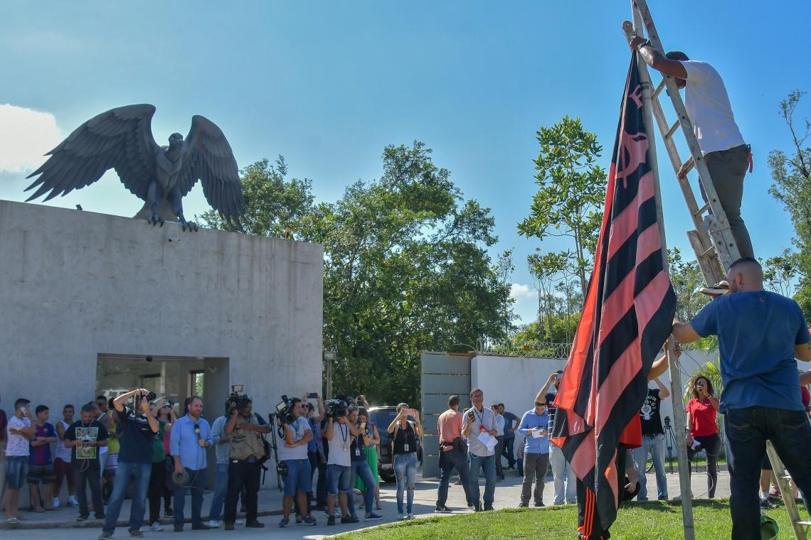 CT do Flamengo.