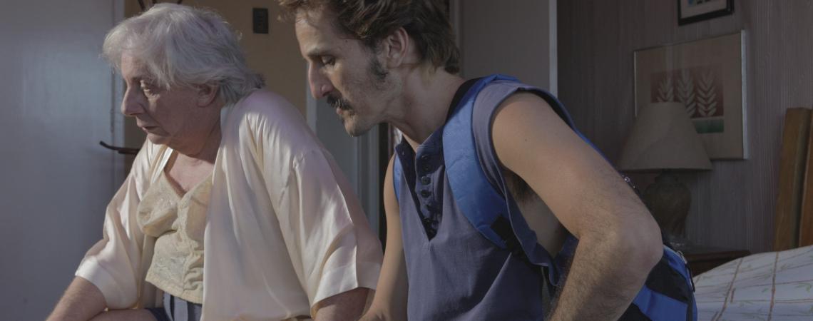Marco Nanini e Démick Lopes em cena de Greta