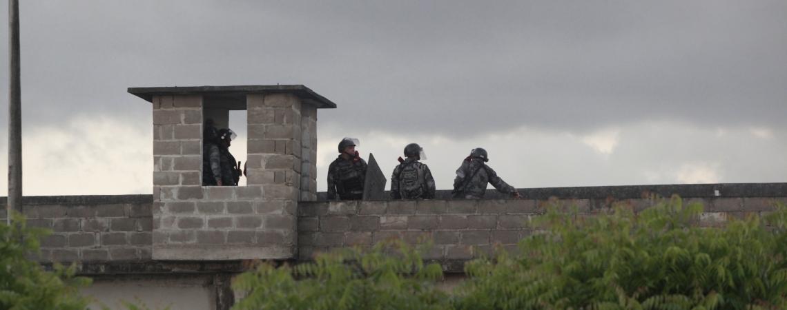 Atualmente, há apenas um Centro de Triagem no Ceará. Fica, em Caucaia, ao lado da unidade Carrapicho