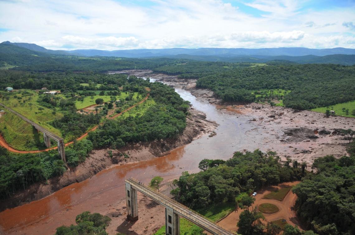 As retiradas vêm após rompimento da barragem de Brumadinho (Foto: Vinicius Mendonça/Ibama)