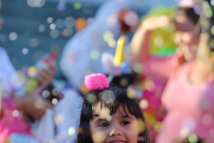 No RioMar, o domingo foi de  Carnaval para a criançada
