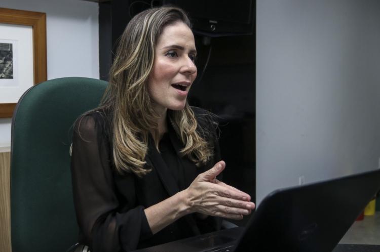 Águeda Muniz, Secretária de Urbanismo e Meio Ambiente de Fortaleza (Seuma). (Foto: Alex Gomes/O Povo)