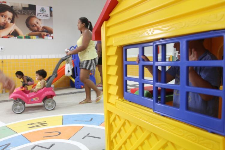 Creches privadas poderão reabrir (Foto: Evilázio Bezerra em 16/06/2017)