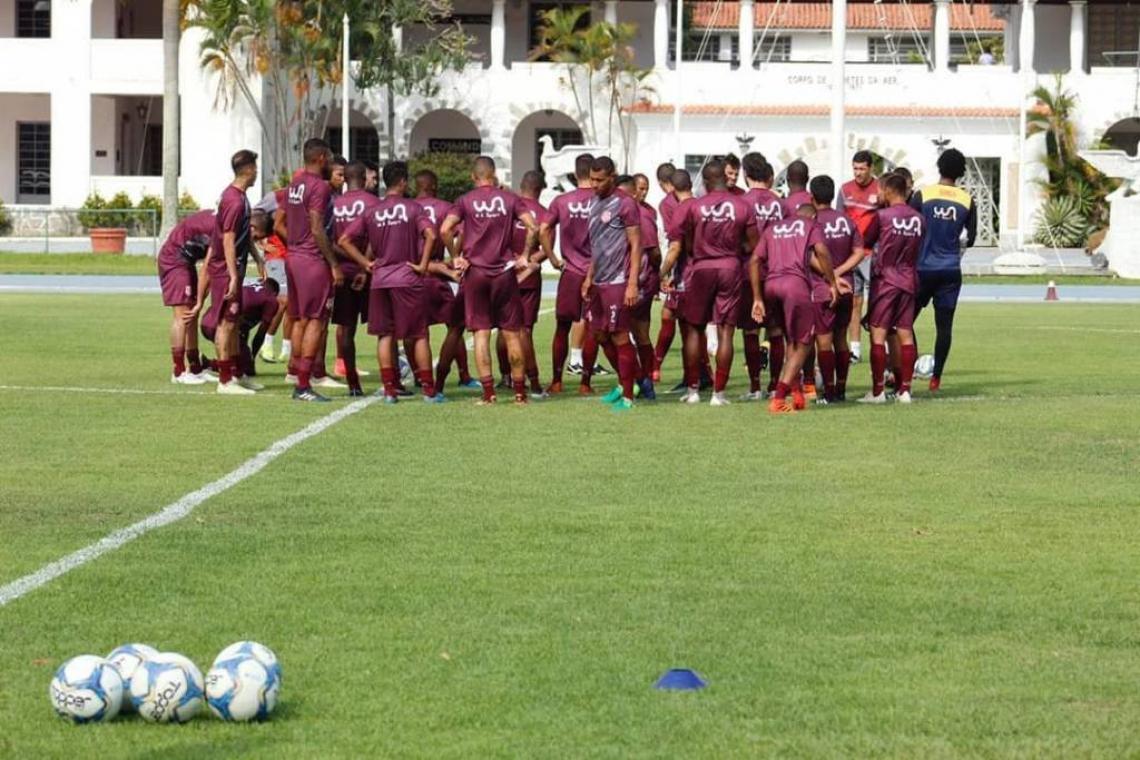 Equipe treina no CDA, na Zona Oeste do Rio (