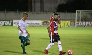 Floresta x Ferroviário, 12/2/2019, no estádio Domingão. Duelo válido pela segunda fase do Cearense 2019