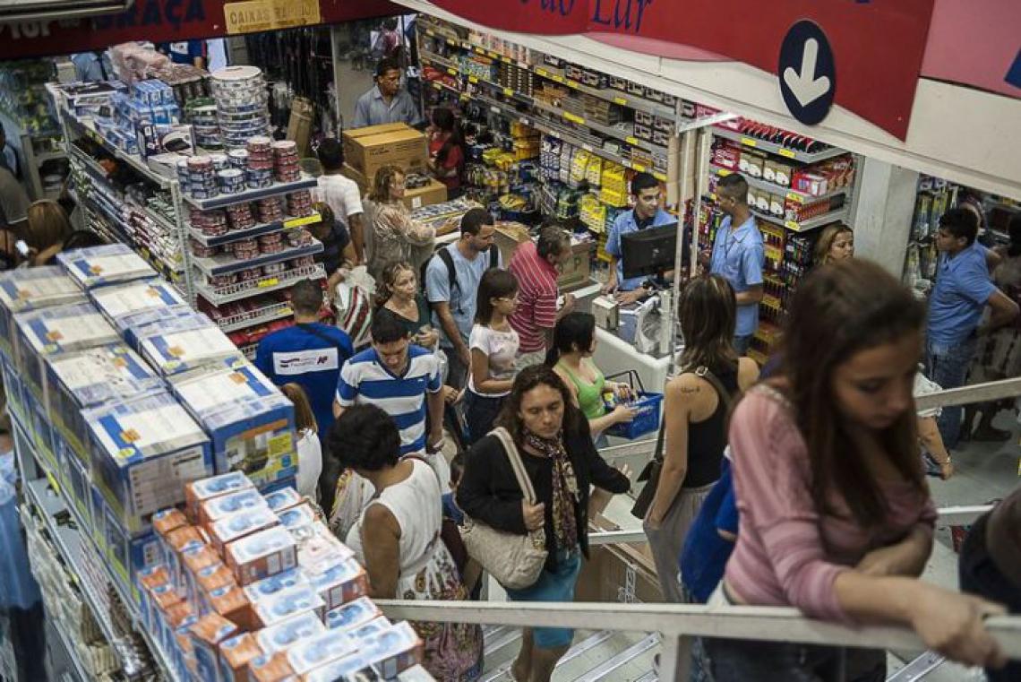 O comércio de varejo no Ceará fechou o ano de 2018 com alta de 2,1%, de acordo com pesquisa, divulgada nesta terça-feira, 13. (Foto: Agência Brasil)