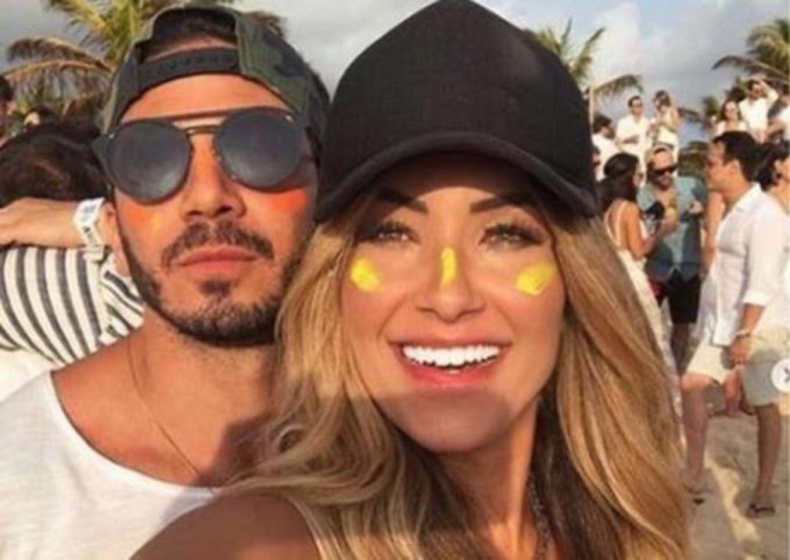 Ex-BBB Gustavo reatou namoro com repórter do Faustão.(Foto: Reprodução/Instagram)