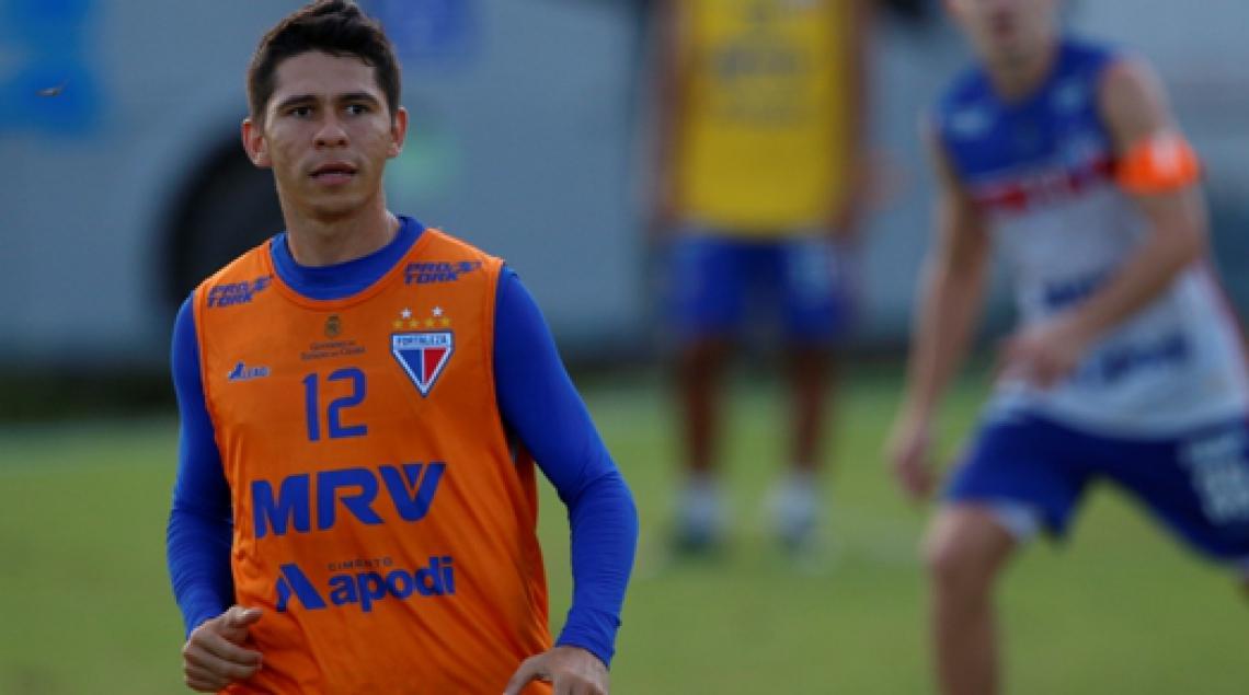 Revelado no Pici, Osvaldo volta ao clube onde esteve ano passado. oto: Mateus Dantas/O POVO.