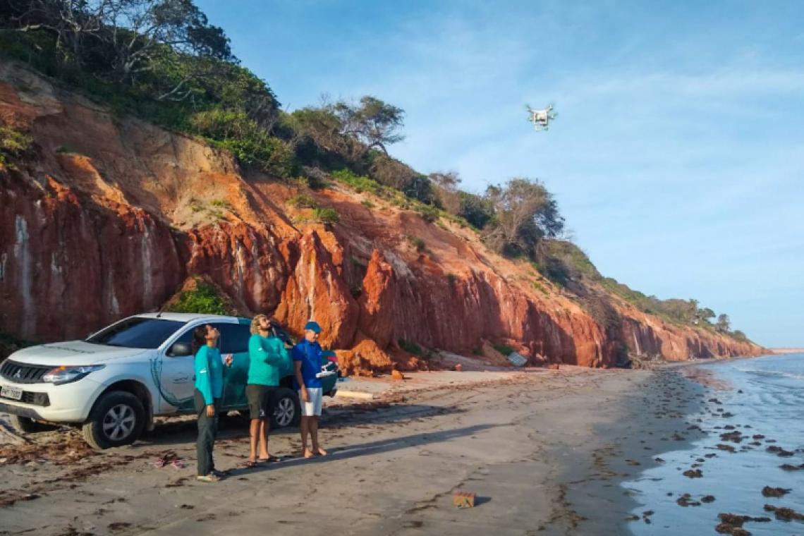 A parceria com a DronDrones é uma iniciativa viabilizada pelo patrocínio da Petrobras