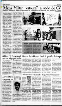 Matéria do O POVO de 17/10/1993