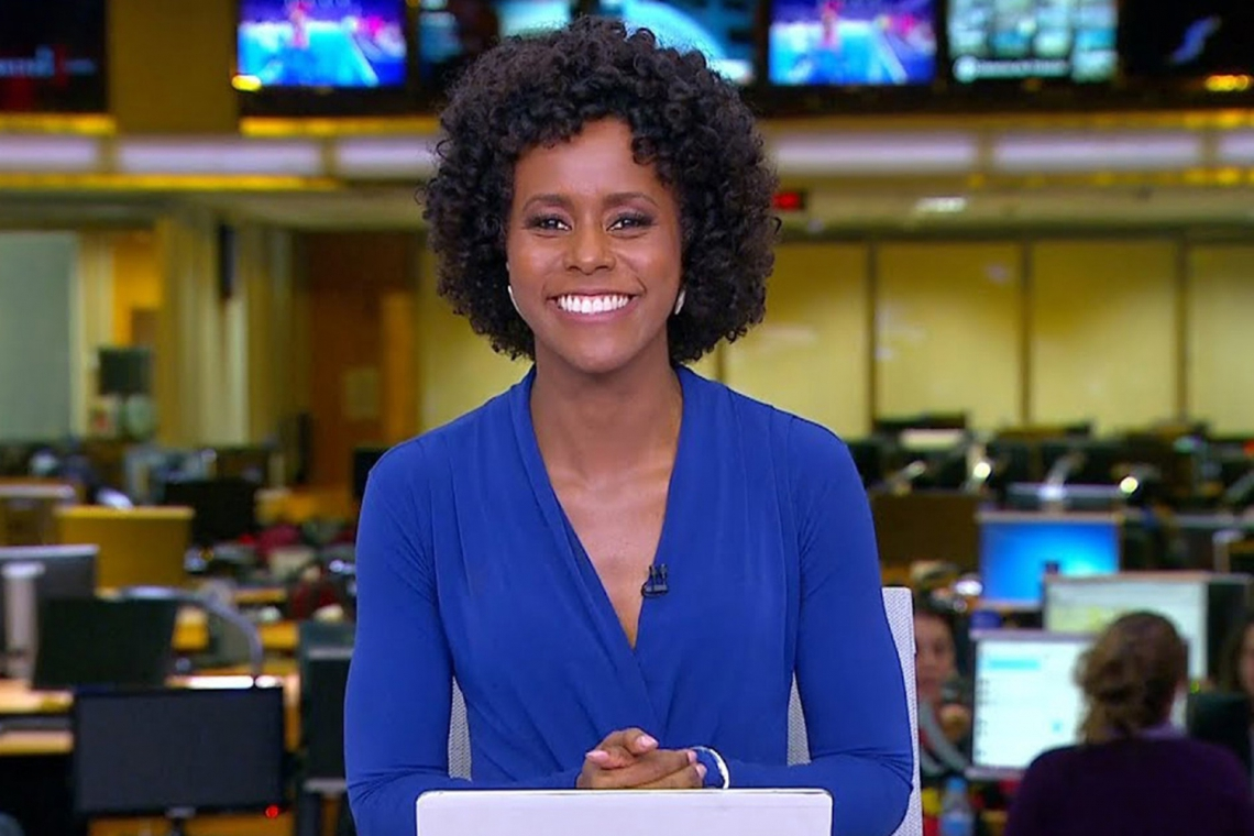 Maju Coutinho será primeira apresentadora negra do Jornal Nacional. (Foto: Reprodução/TV Globo)