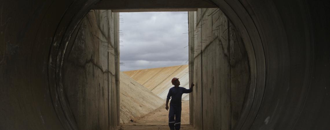 CINTURÃO DAS ÁGUAS é estrutura que vai levar águas do São Francisco de Jati ao Castanhão