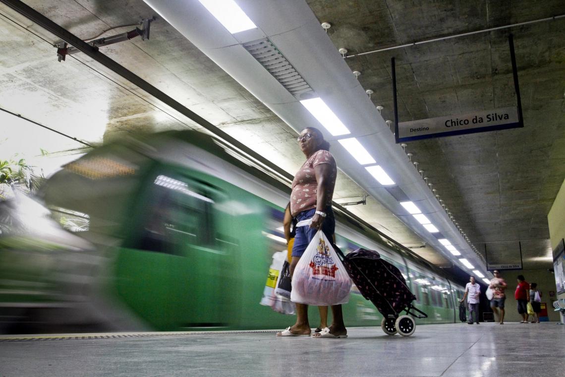 Passagem do metrô sofrerá alteração. (Foto: Evilázio Bezerra/O POVO)