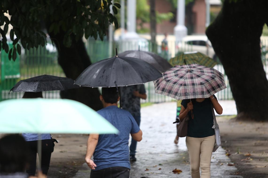 84 municípios cearenses registram chuvas.