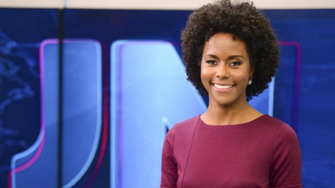 Maju estreia neste sábado, 16 na apresentação do Jornal Nacional. (Foto: Divulgação/TV Globo)