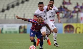 Tricolor segue com seis pontos, agora em 3º lugar. Mateus Dantas/O POVO