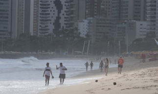 FORTALEZA ,CE, BRASIL 09-02-2019: Baldealidade das praias, Beira Mar. (Gustavo Simão/ Especial para O POVO)