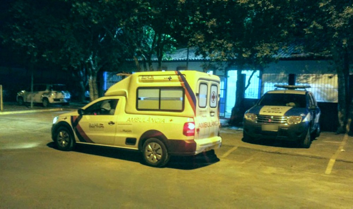 Suspeito foi preso em flagrante e segue detido na delegacia de Teixeira de Freitas (BA). (Foto: Reprodução/Clóves Neto/ Liberdade News)