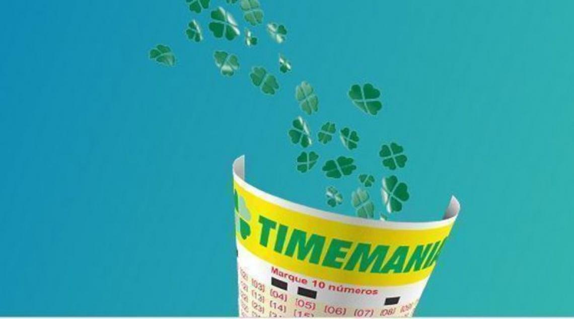 O sorteio da Timemania 1296 ocorrerá na noite desta terça, 19 de fevereiro (19/02). (Foto: Site da CEF)