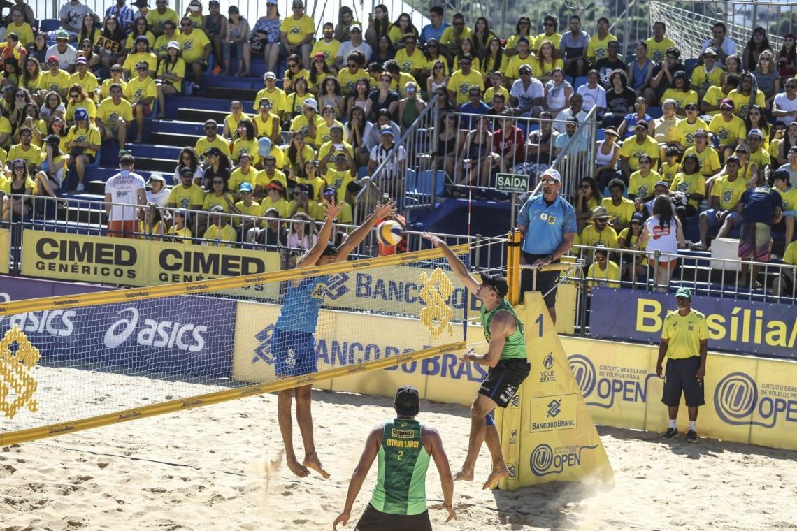 Etapa de Fortaleza é 5ª temporada do Circuito Brasileiro. Foto: Divulgação/CBV