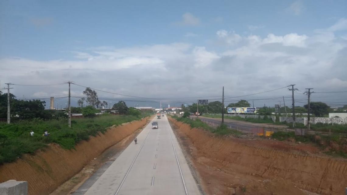 Com trecho entregue nesta terça-feira, 19, as obras no Anel Viário devem beneficiar diretamente os municípios de Caucaia, Eusébio, Maracanaú e Maranguape. (Foto: Heloísa Vasconcelos/ especial para O Povo)