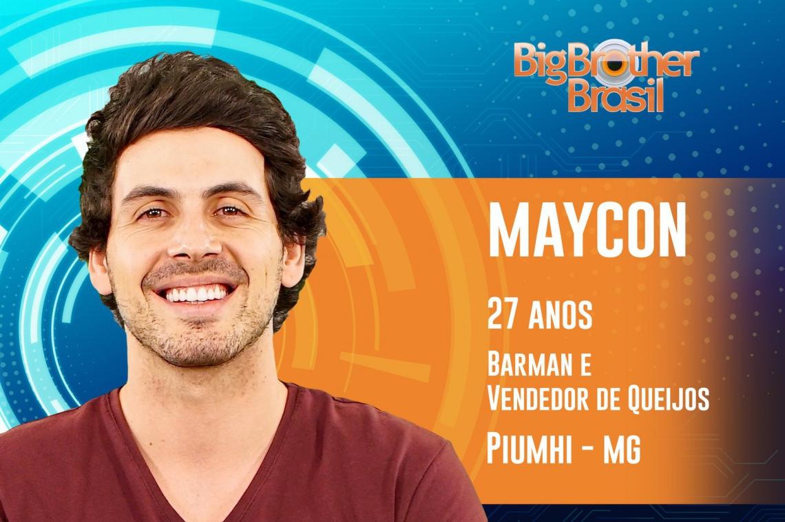 Maycon foi eliminado do BBB19 com 55,72% dos votos