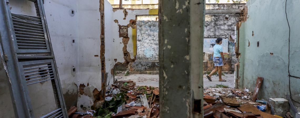 COMUNIDADE já tem casas demolidas após indenizações para viabilizar binário