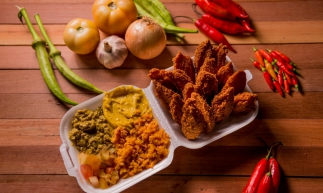 O Acarajé Express oferece a opção acarajé em petiscos (Divulgação)