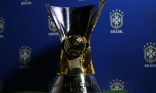 Design do troféu da Supercopa do Brasil. Foto: Fernando Torres / CBF