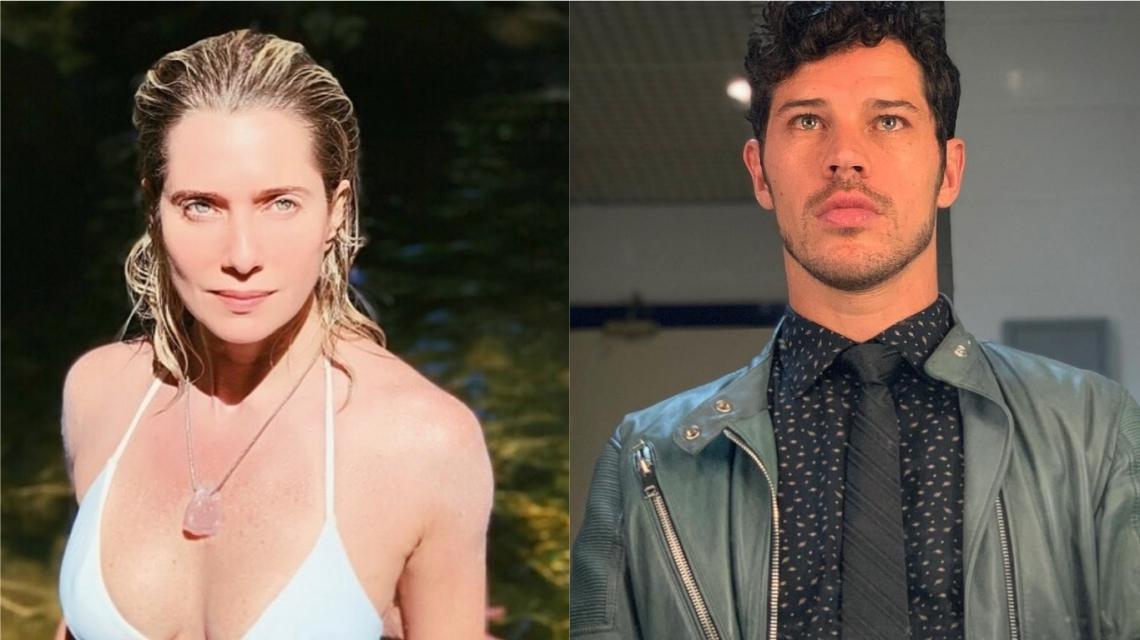 Após boatos, Letícia Spiller nega caso com José Loreto. (Foto: Reprodução/Instagram/Colagem)