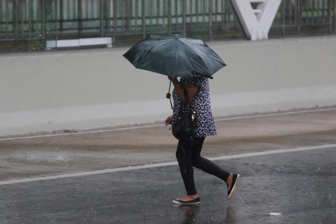 FORTALEZA já superou a média de chuva para o mês