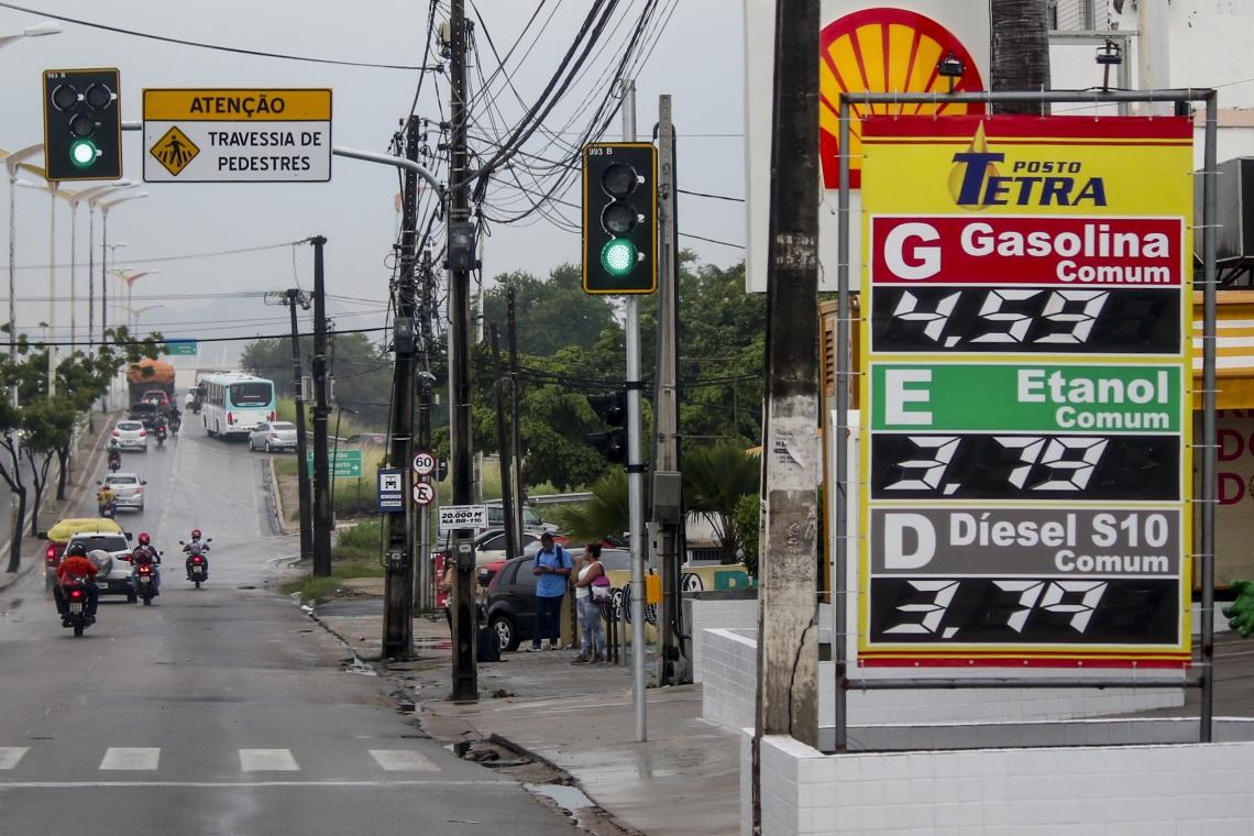 Aumento da gasolina foi o principal responsável pelo aumento da inflação na Capital