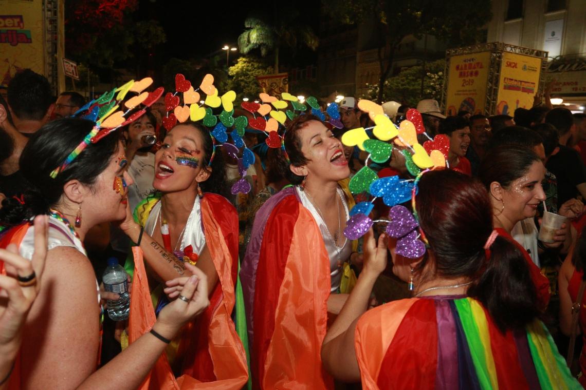 FORTALEZA,CE,BRASIL,22.02.2019: Último final de semana de pré-carnaval em Fortaleza. (fotos: Tatiana Fortes/ O POVO)