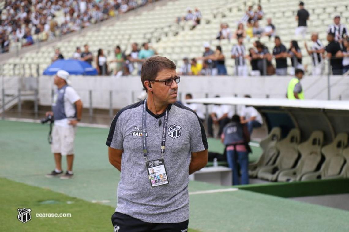 Marcelo Rospide era auxiliar do Ceará desde 2018. Foto: Fernando Ferreira / Cearasc.com.