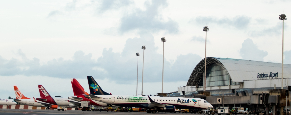 O hub aéreo deve impactar no desenvolvimento do turismo do estado
