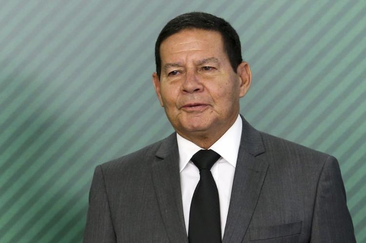 VICE-PRESIDENTE, general da reserva Hamilton Mourão