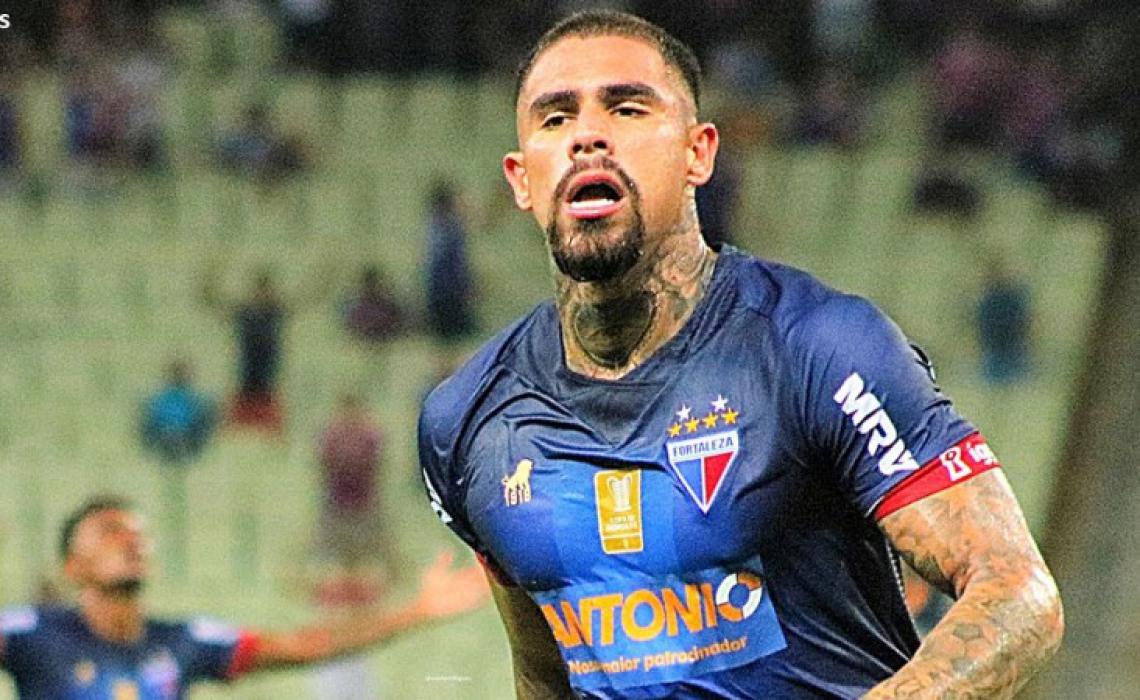 Quitero marcou o gol que decretou o empate contra o Bahia. Foto: Xandy Rodrigues/Divulgação