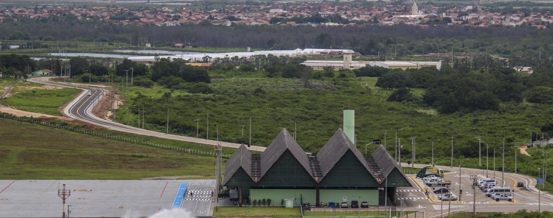 AEROPORTO de Canoa Quebrada recebe o primeiro voo comercial com batismo