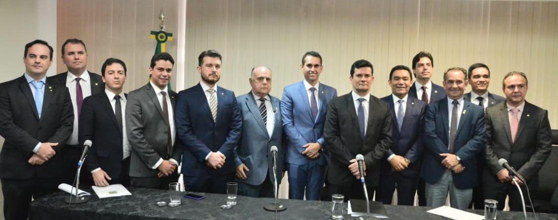 BANCADA FEDERAL cearense reuniu-se na tarde de ontem com o ministro Sergio Moro