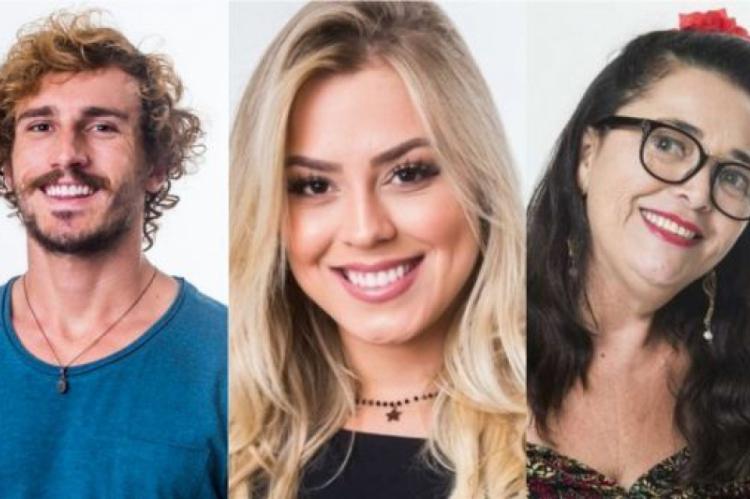 Alan, Isabella e Tereza estão no paredão do BBB19. Vote na enquete.