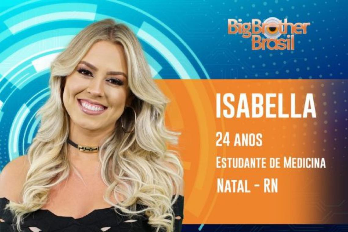 Isabella foi eliminada na noite desta terça-feira, 26 (FOTO: Reprodução)