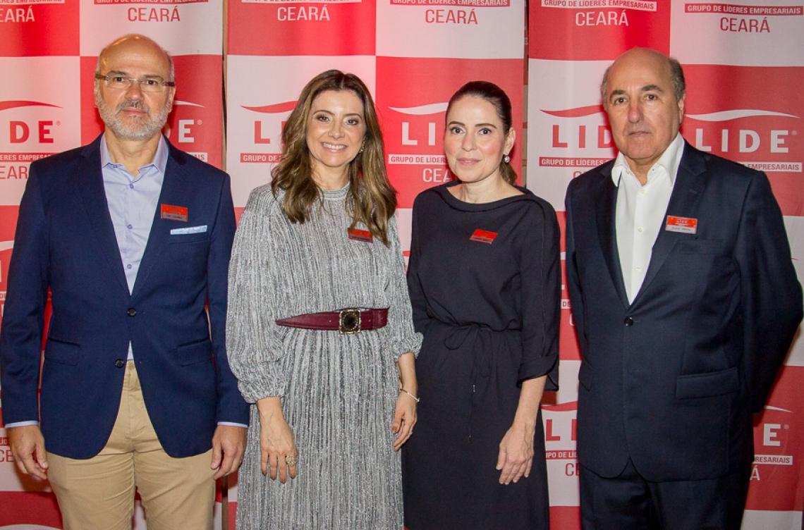 Yuri Colares, Emília Buarque, Águeda Muniz e Silvio Frota