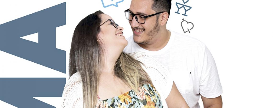 O POVO apadrinha casal